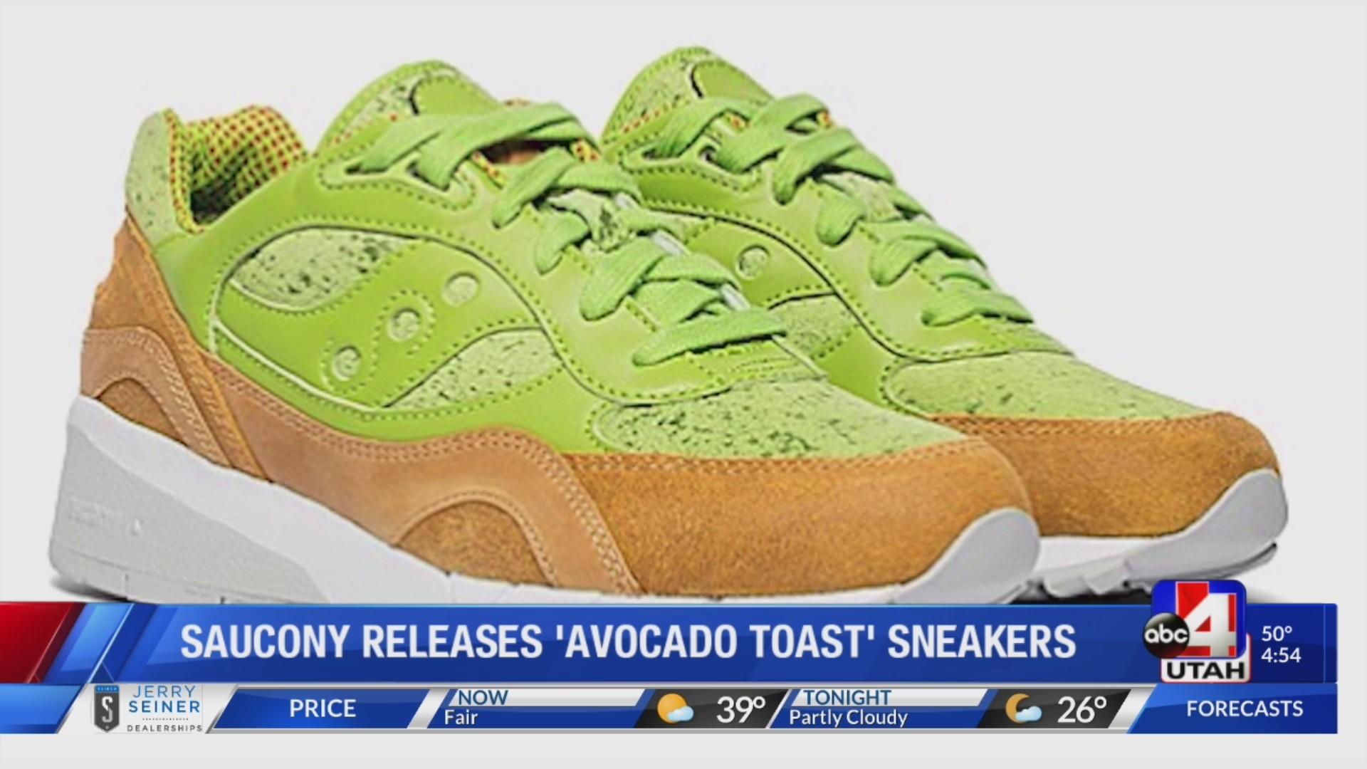Saucony releases avocado toast inspired