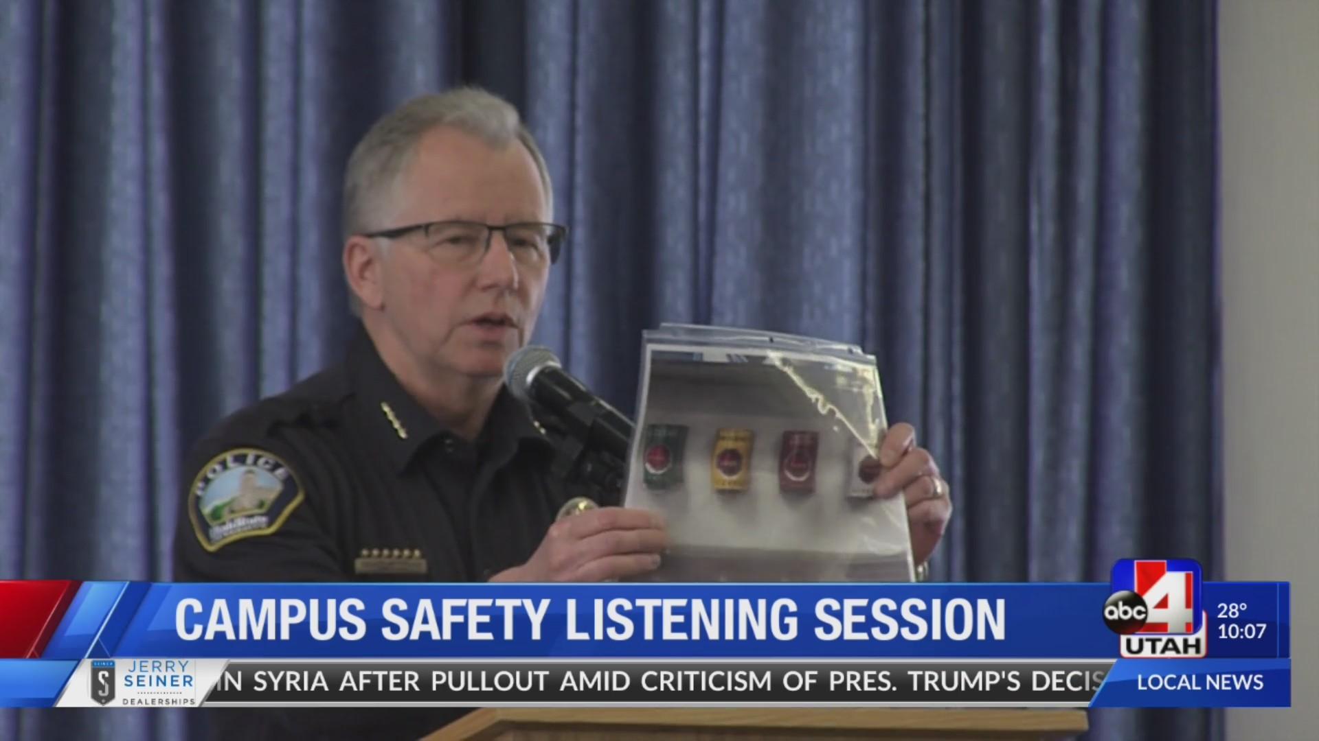 USU hosts listening session after false alarm