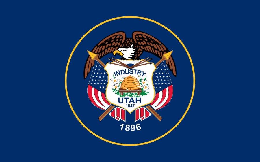 Utah state flag33745385-159532