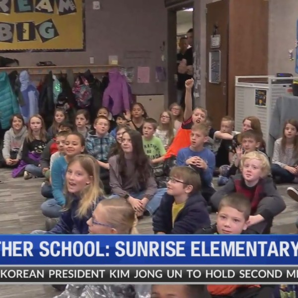 Weather School at Sunrise Elementary