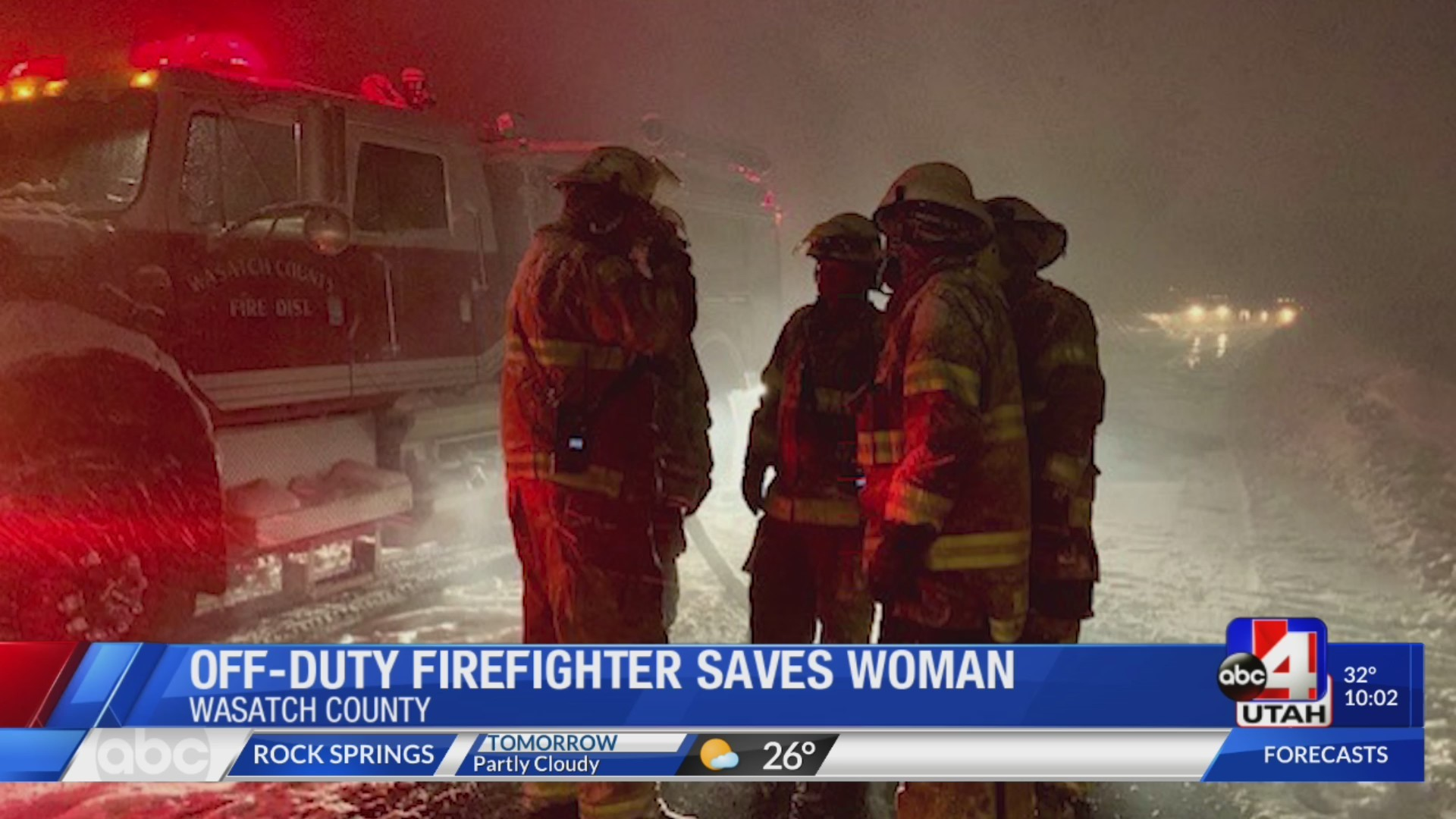 Woman hospitalized after cabin explodes in Wasatch County