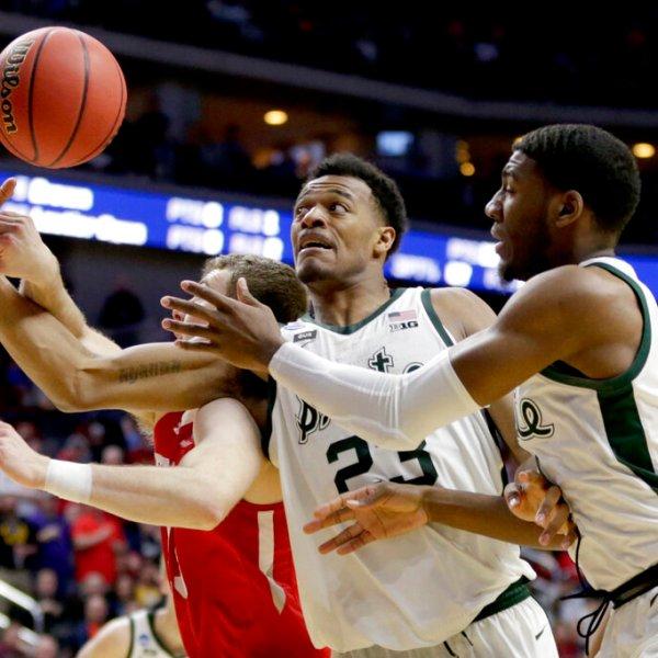 NCAA Bradley Michigan St Basketball_1553216853170