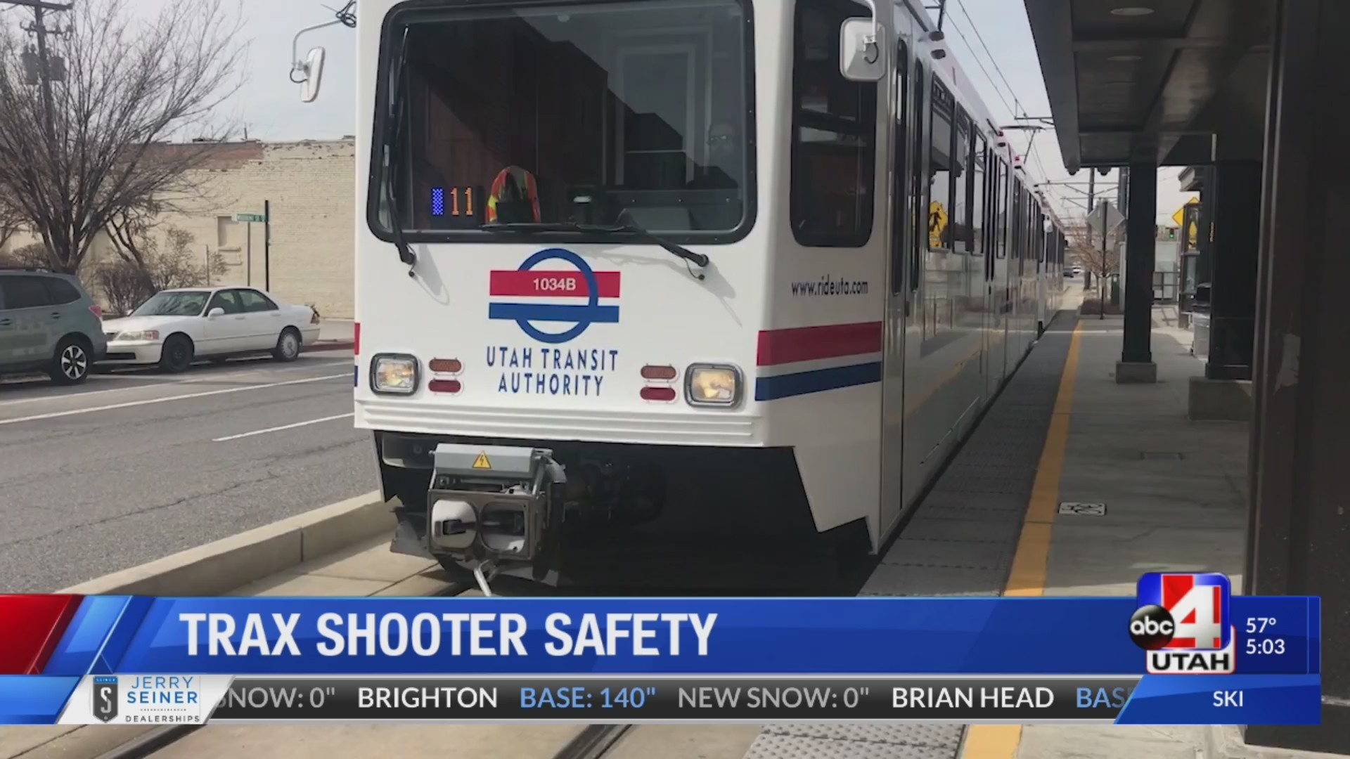 How does UTA prepare for shootings?