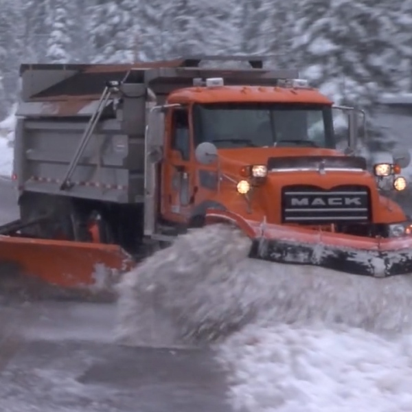 UDOT plows