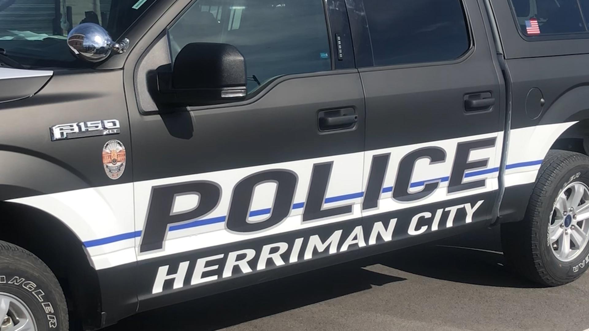 Herriman Police Department vehicle