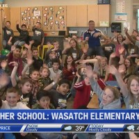 Weather School at Wasatch Elementary