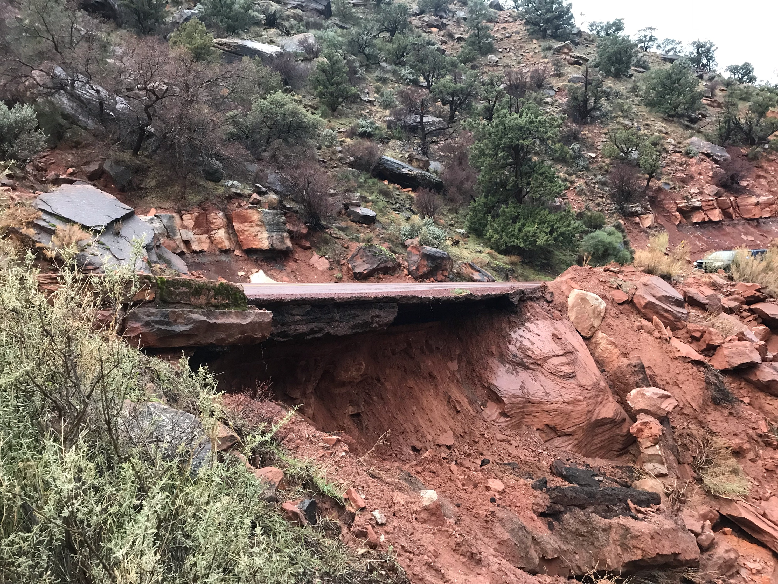 Traffic Alert: Road closures at Zion National Park
