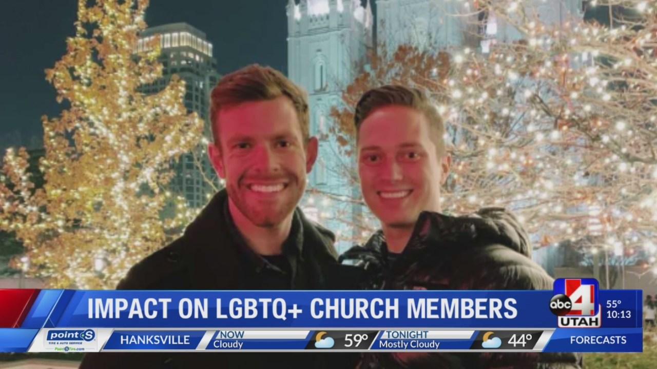Same Sex Couple Choosing To Keep Their Faith Amidst Church