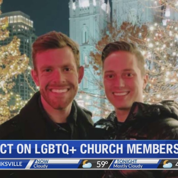 LGBT COUPLE CHOOSES TO STAY IN CHURCH