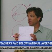 Teacher pay data