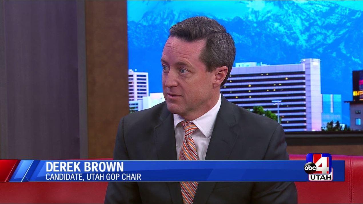 Utah GOP Chair Candidate Profile: Derek Brown
