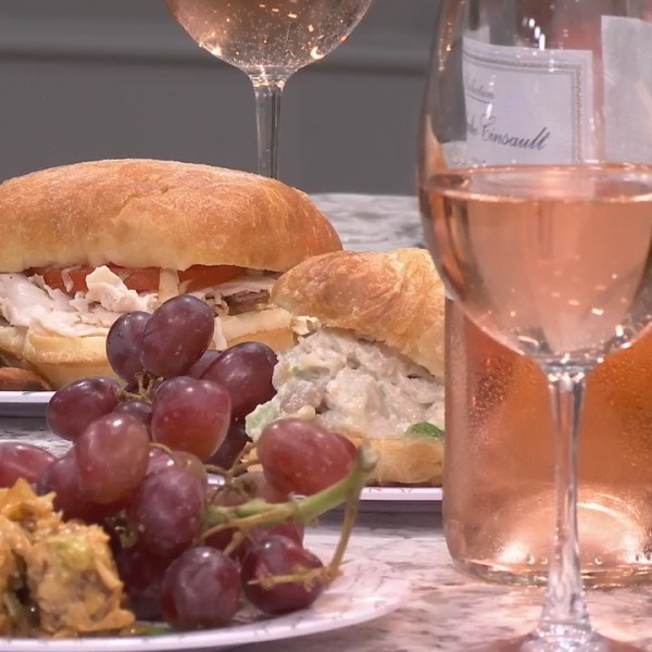 4 Rosés and food to pair with them