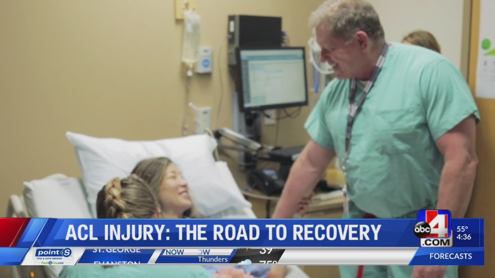 ACL INJURY: ROAD TO RECOVERY PART 1