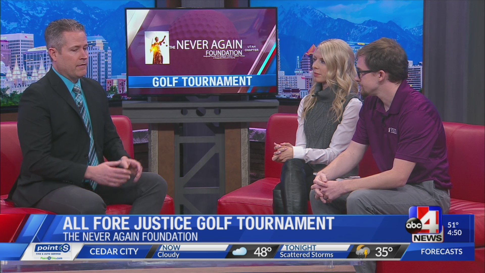 ALL FORE JUSTICE Golf Tournament benefits domestic violence