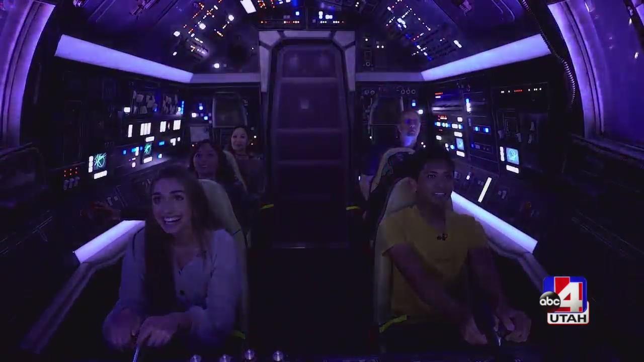 A Live Look At Star Wars Galaxy's Edge