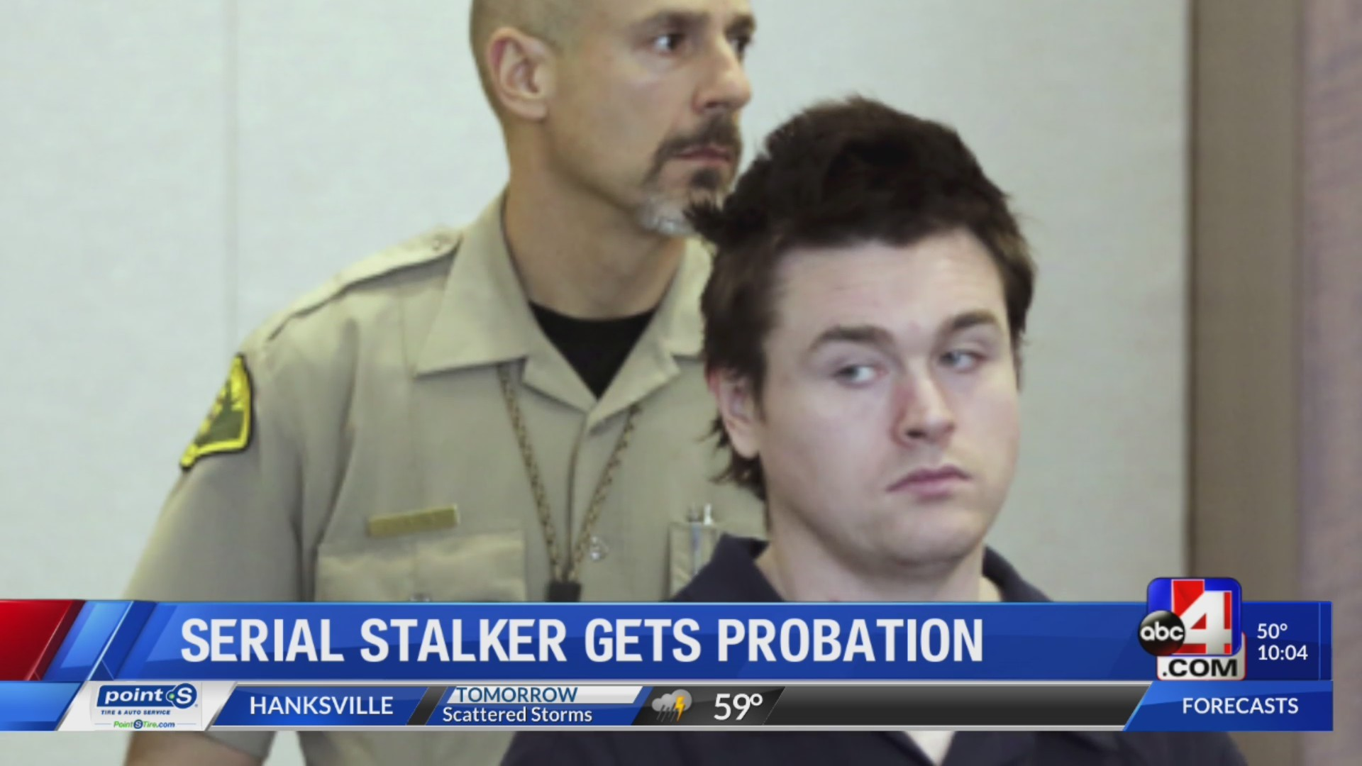A flaw in the law: serial stalker gets probation