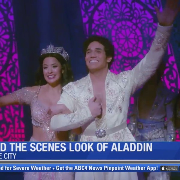 Behind the scenes at Disney's Aladdin at the Eccles