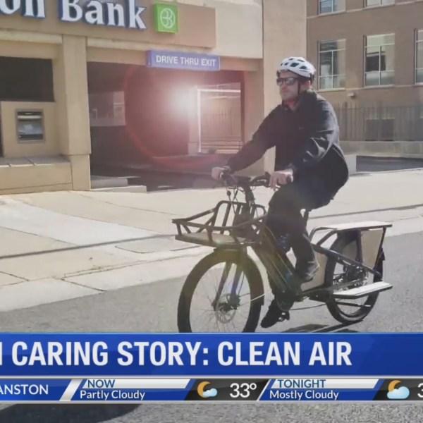 Bikes for clean air
