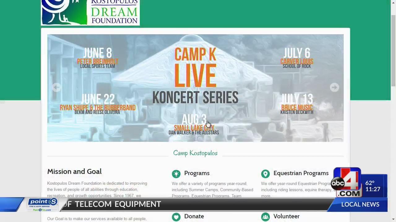Camp K Live Koncert Series
