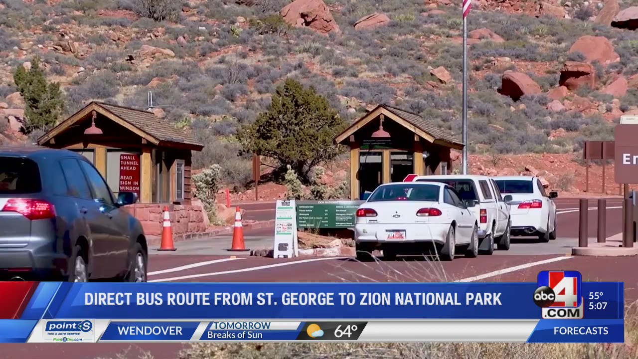 Direct bus route from St. George to Zion NP in the works