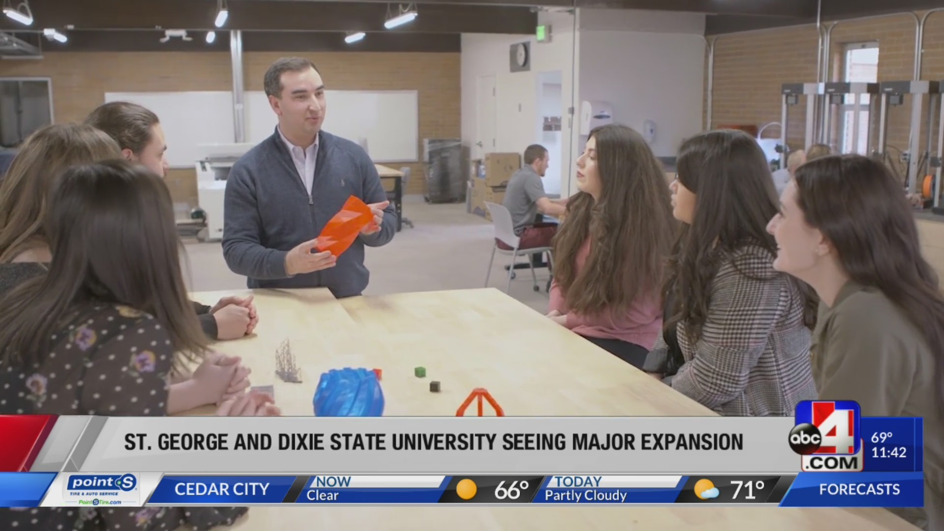 Dixie State University on the rise