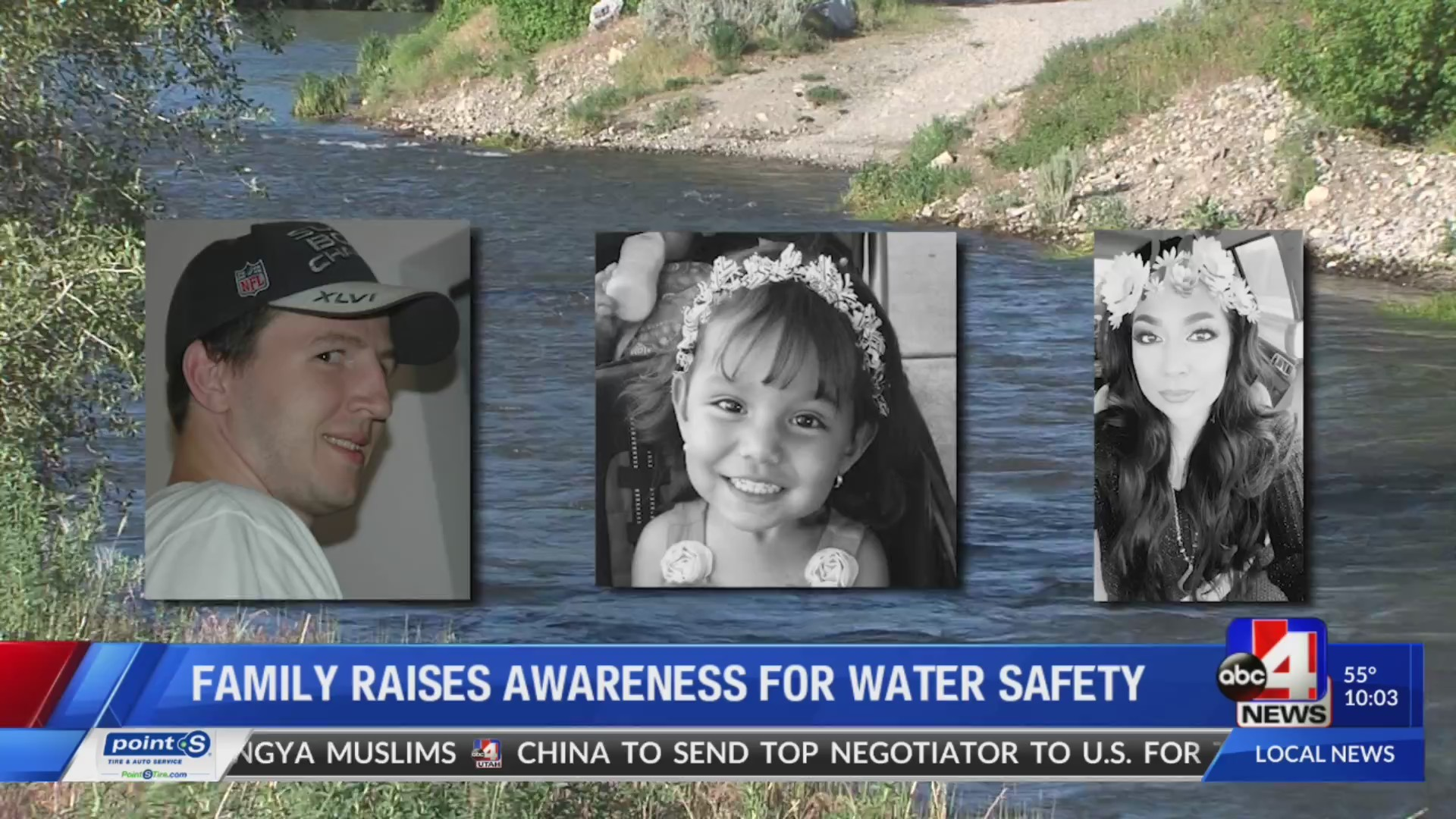 Family warning others about water safety after son, 2 others