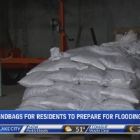Flooding preparation in Cottonwood Heights