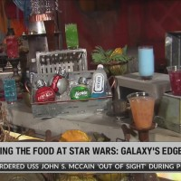 Galactic food and beverages at Star Wars: Galaxy's Edge at Disneyland Resort©