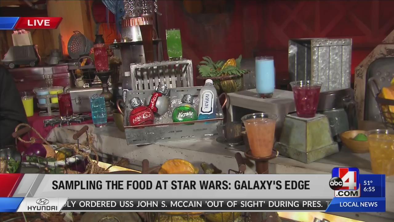 Galactic food and beverages at Star Wars: Galaxy's Edge at Disneyland Resort©