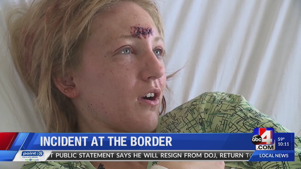 International incident: woman in the middle speaks to ABC4.com