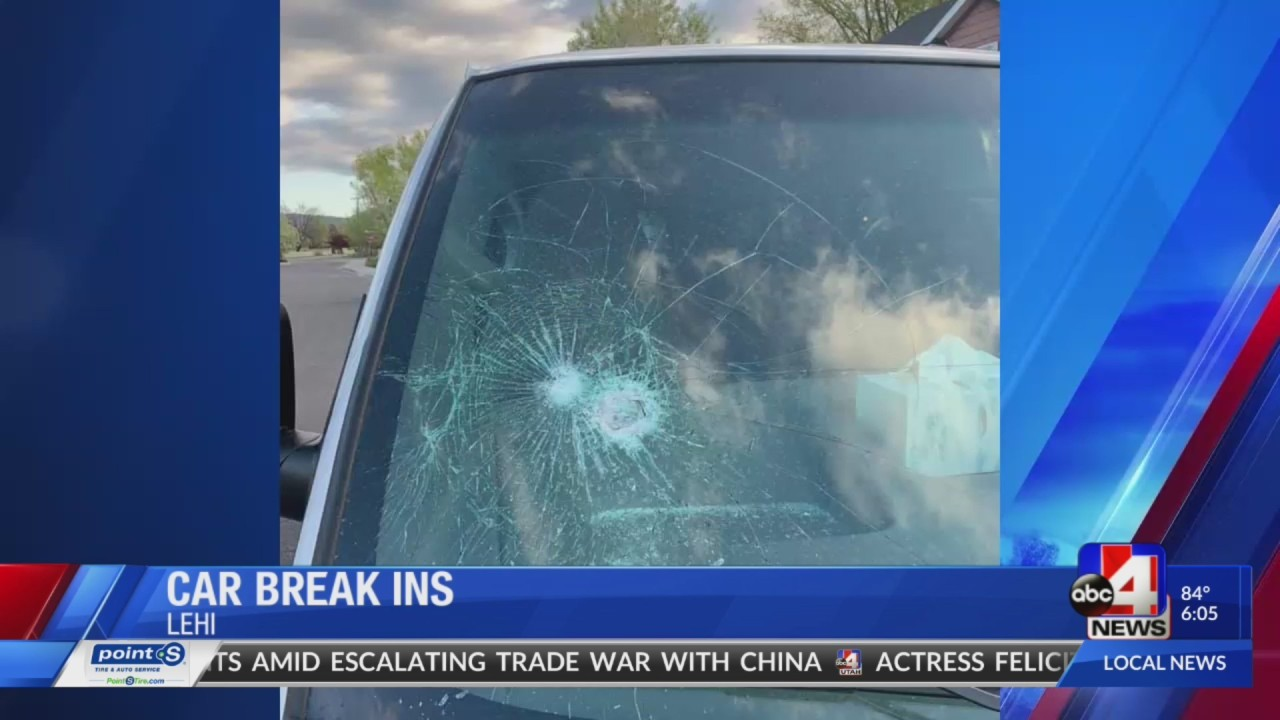 Police Investigate After Dozens Of Vehicles Vandalized In Lehi
