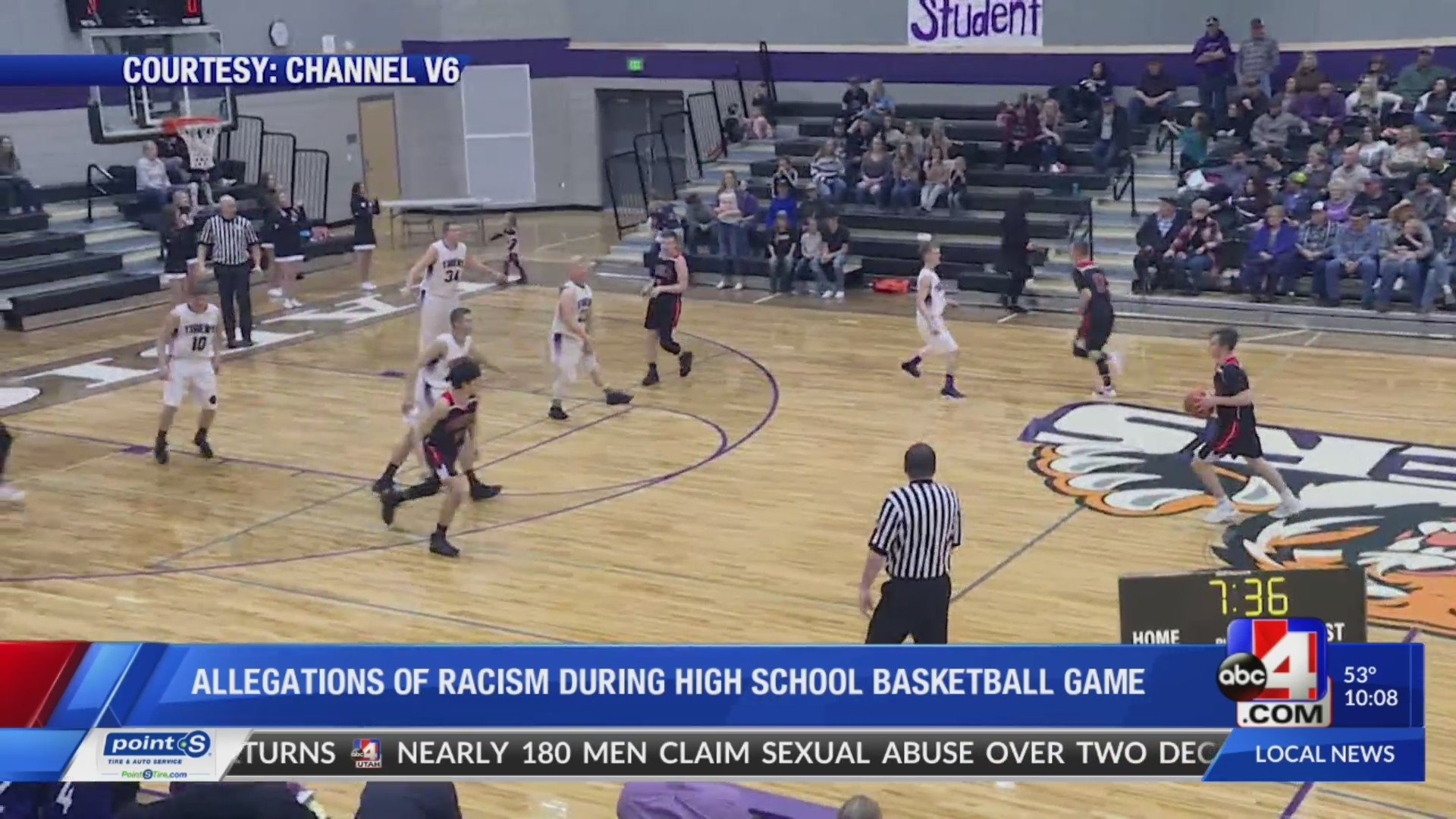 Manila HS Principal speaks out about alleged racist taunts by opponent's fans