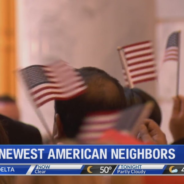 Our newest American neighbors