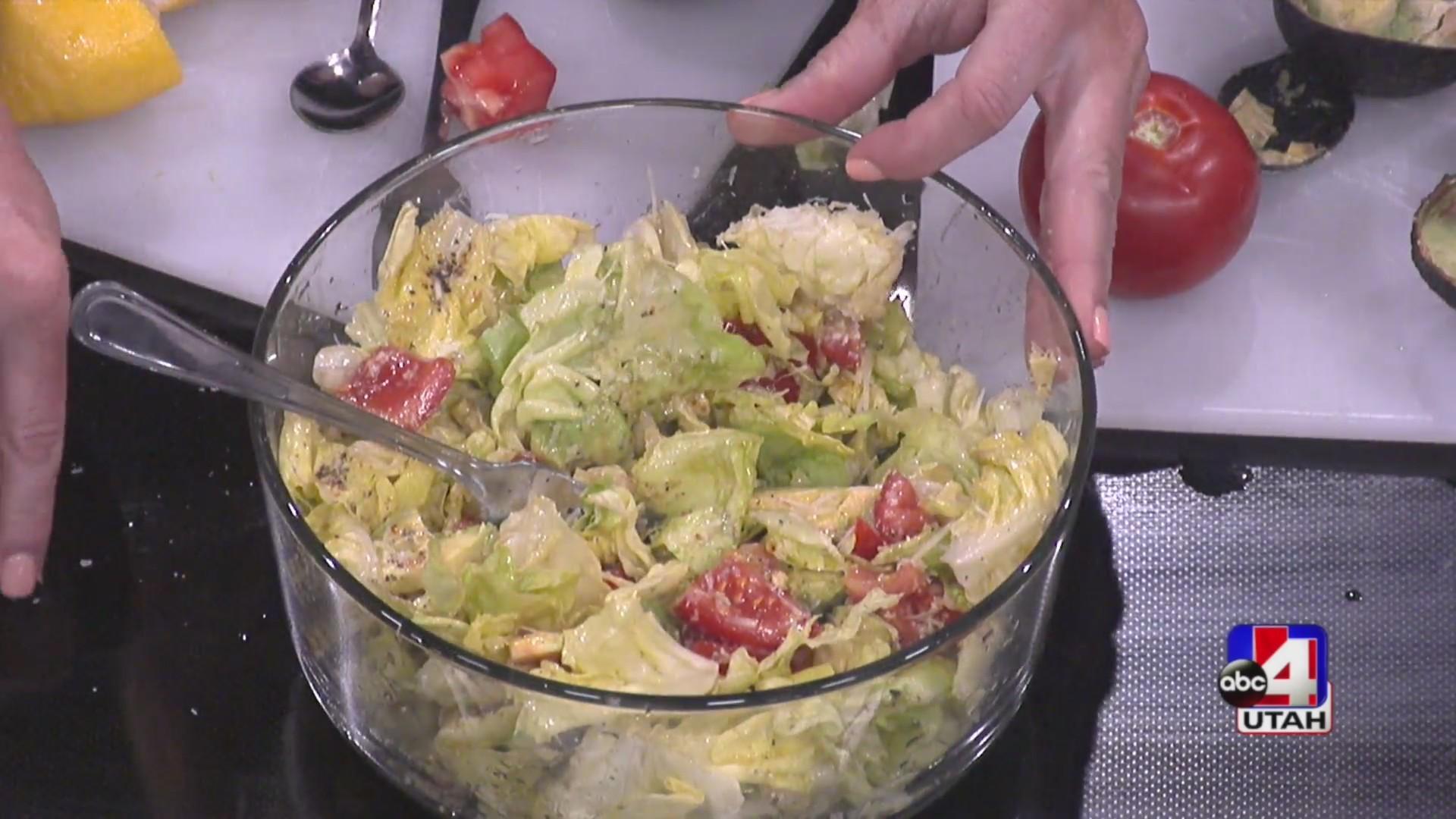 Reagan's favorite salad dressing