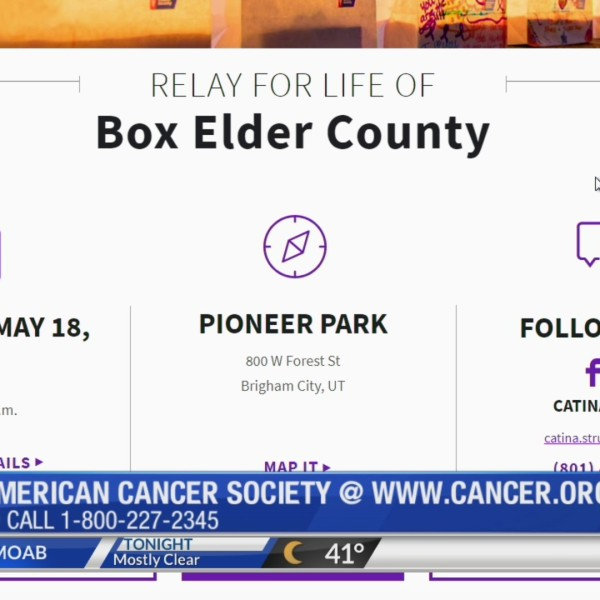 Relay for Life event in Box Elder Co.