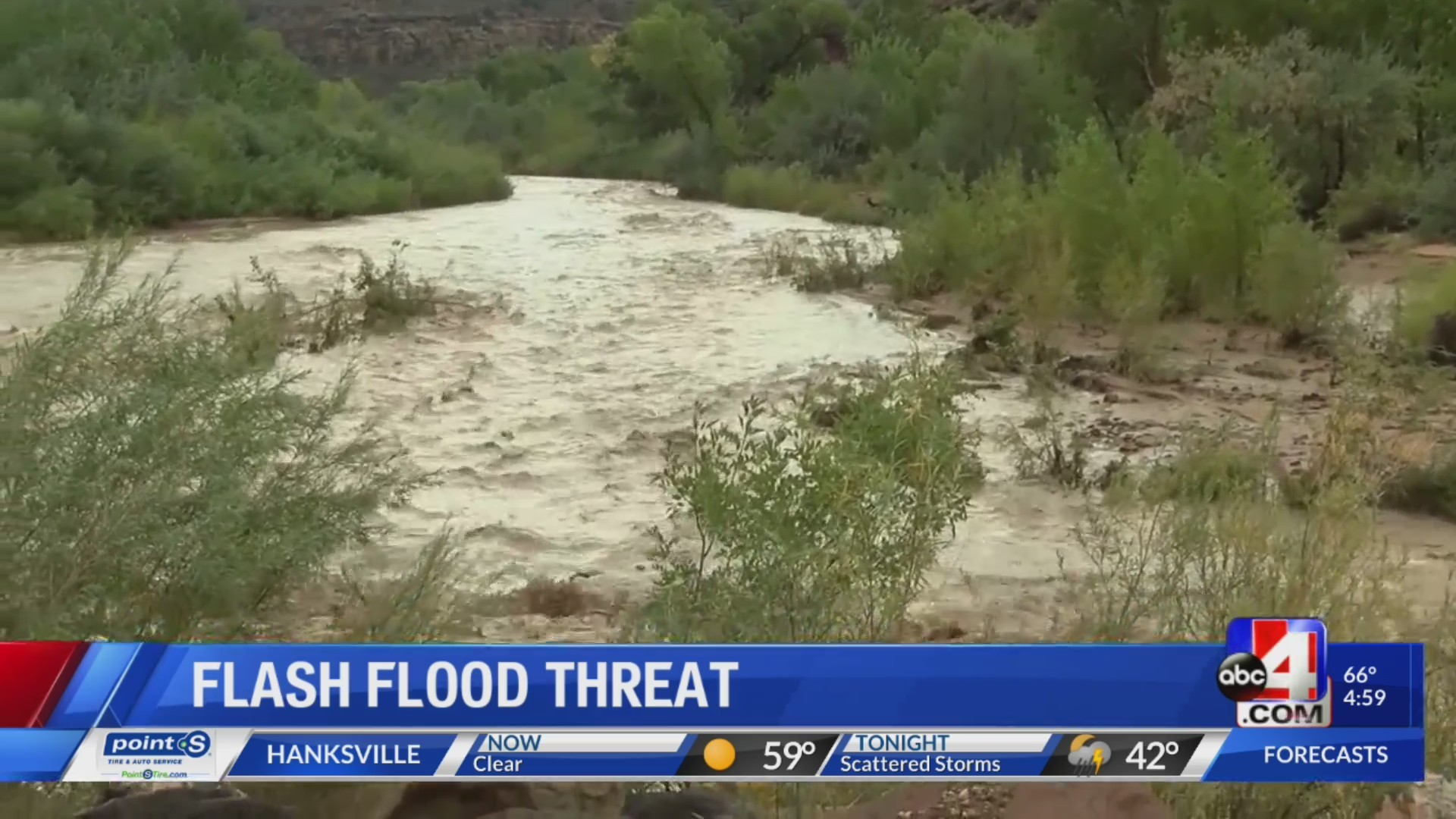 Southern Utah officials urge caution with rivers running high
