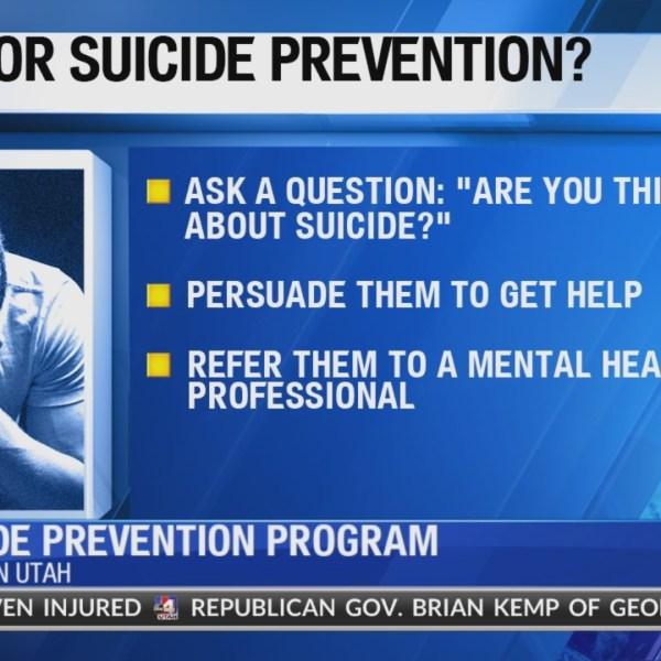 Southern Utah suicide prevention program