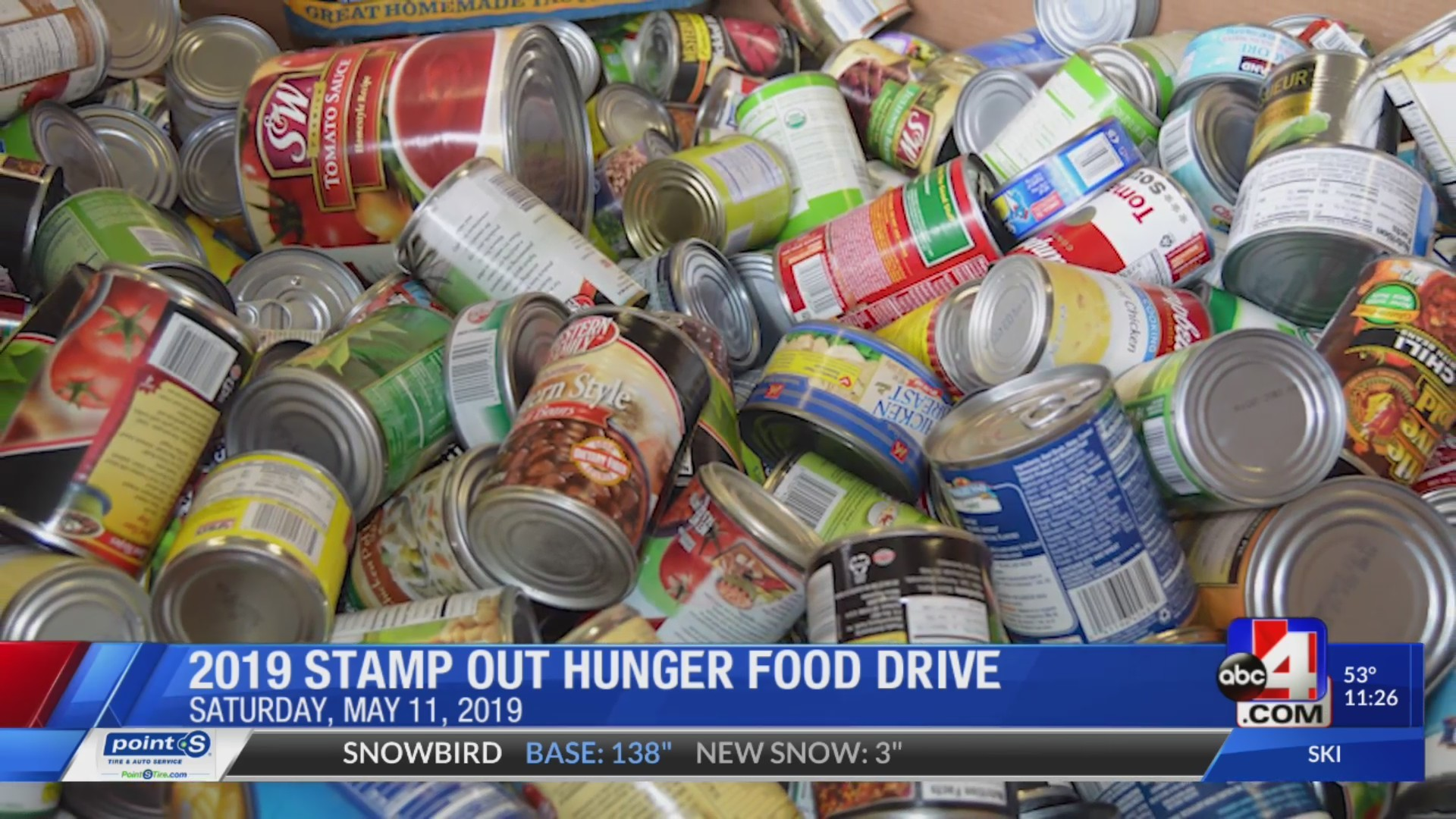 Stamp Out Hunger Food Drive 2019