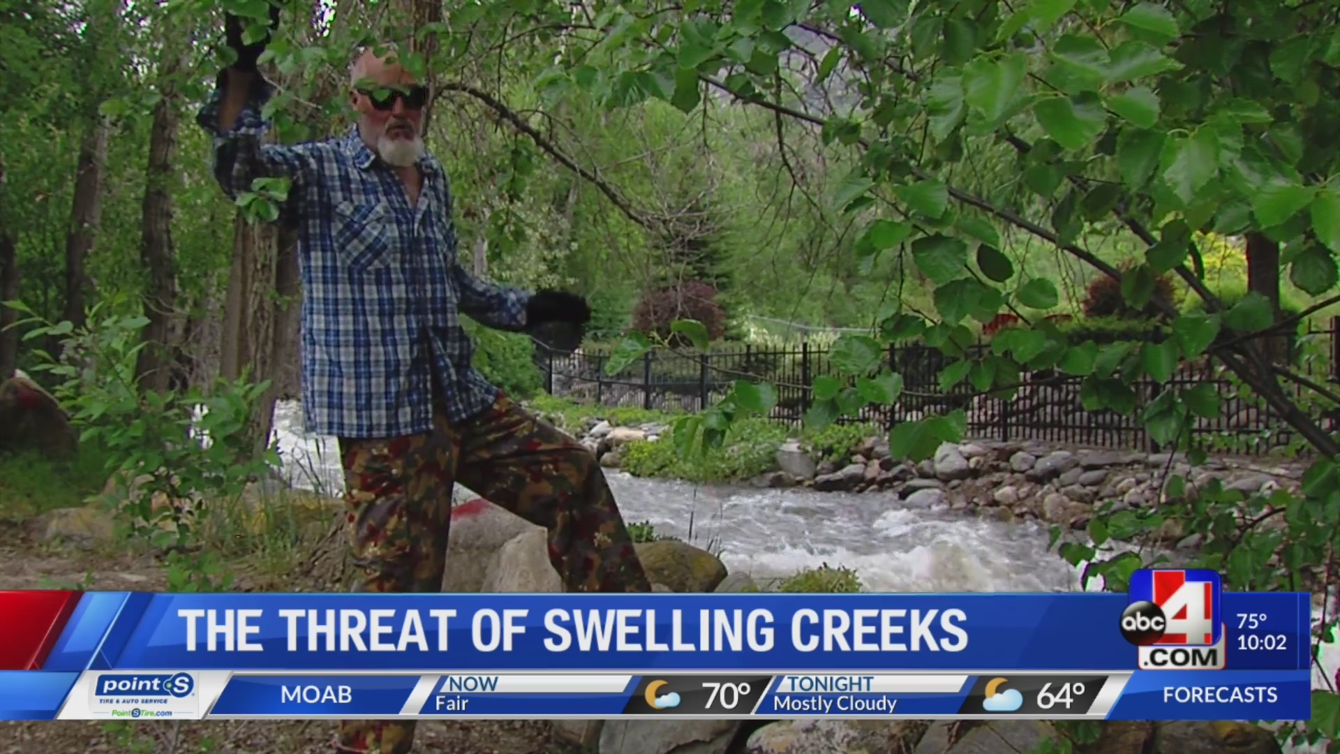 Trouble in the canyons: the threat of swelling creeks