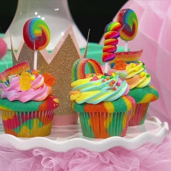 Vanilla Party Cupcakes