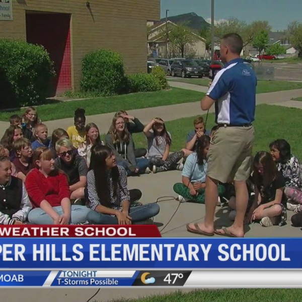 Weather School at Copper Hills Elementary