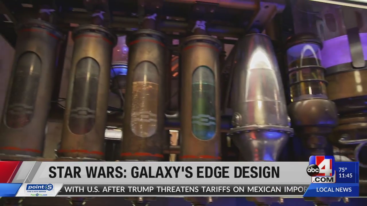 Authentic design at Star Wars: Galaxy's Edge