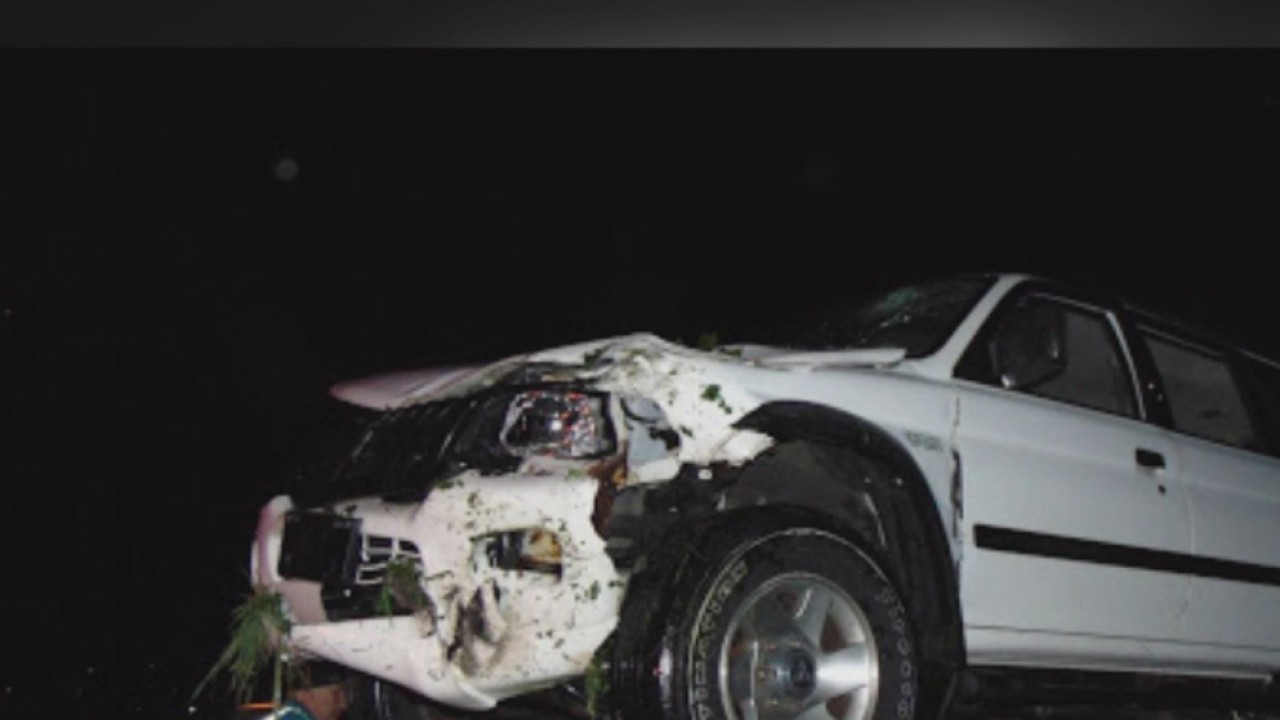 Dash camera video shows trooper stop wrong-way driver