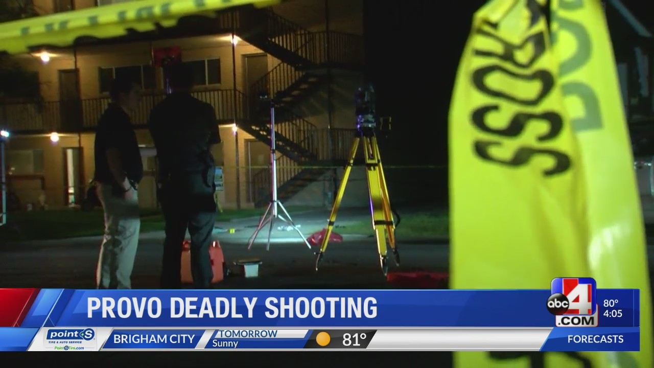 Who is the Provo bystander who shot Jeremy Sorensen?