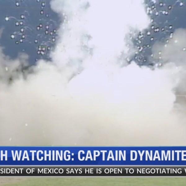 Wirth Watching Captain Dynamite