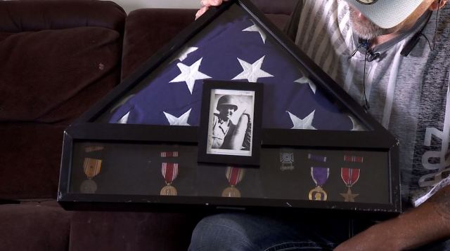Military mystery solved: Roy man returns lost World War II veteran's medals to his family