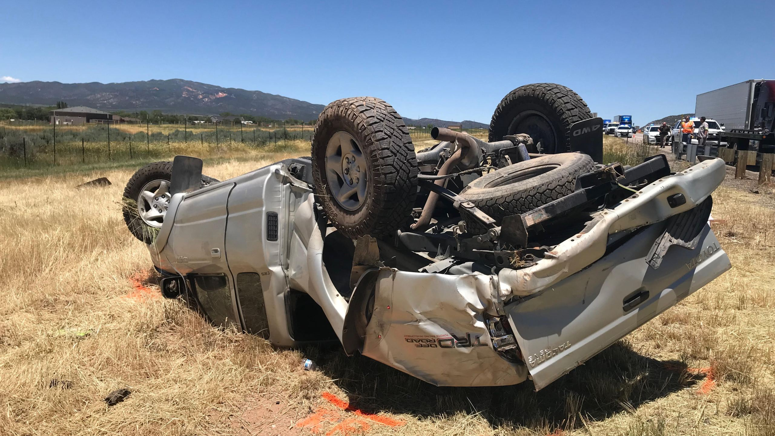 Woman, 56, dead after rollover crash in Washington County