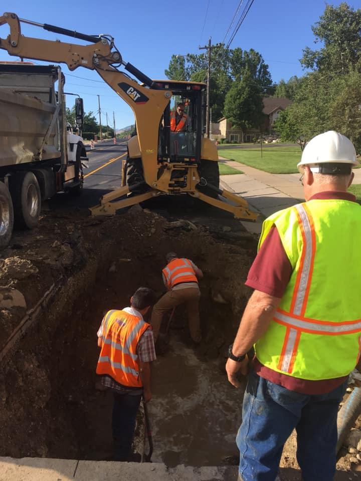 Water Restored Following Water Main Break In Centerville