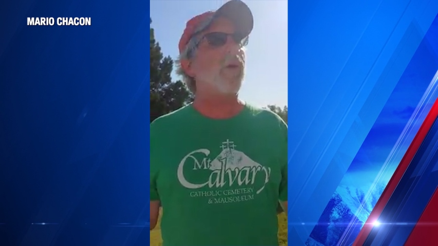 Catholic cemetery director under fire after threatening to