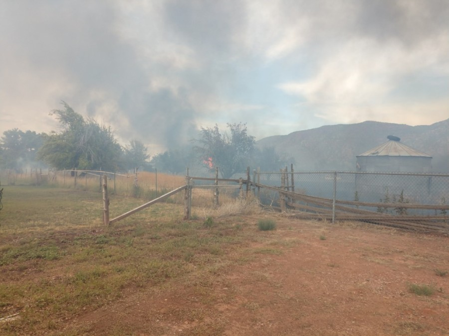 Fire in Iron County destroys 1 home, 6 outbuildings